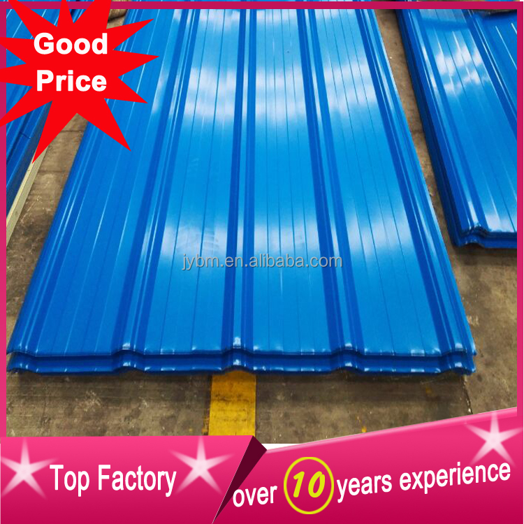 lowest price metal roof tile for factory warehouse roof