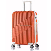 Large retractable handle waterproof shinny color Travellers lg club luggage travel trolley case