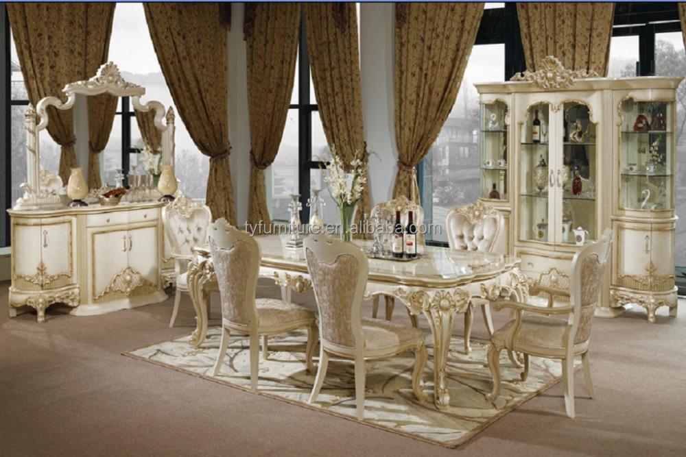 Superb Vilga New European Furniture/ Luxury Dining Set/ Diningroom   Buy European  Furniture,Dining Set,Diningroom Product On Alibaba.com