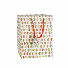 High quality and fancy customized printed luxury gift paper shopping bag