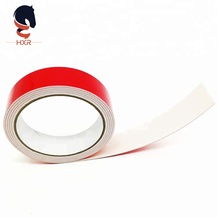 Heat-resistance <strong>adhesive</strong> double sided automotive waterproof eva foam tape with orange/red liner