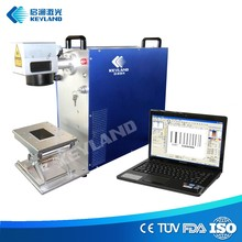 100w 2D Symbol Barcode Fiber Laser Marking Equipment hard cover books making machine