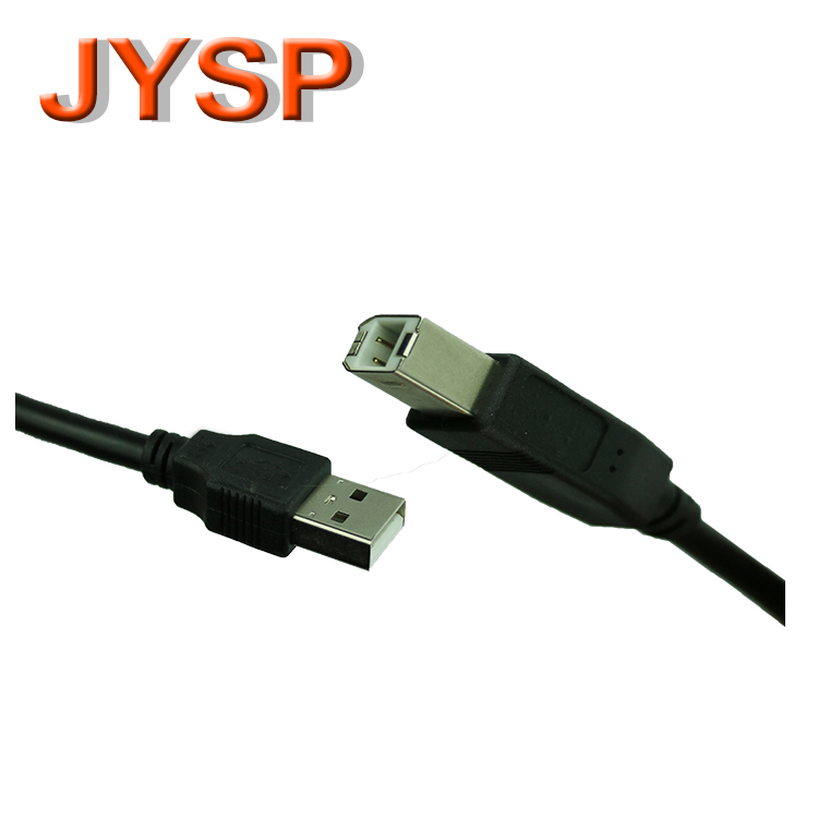 High speed cheap price 1.5m black usb printer cable