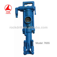 Factory Direct!pneumatic rock hammer drill/pneumatic piston hammer/pneumatic pick jack hammer 7655 rock drill made in china