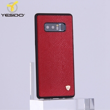 Guangzhou mobile phone for Samsung galaxy note 8 leather cover case note 8 case waterproof