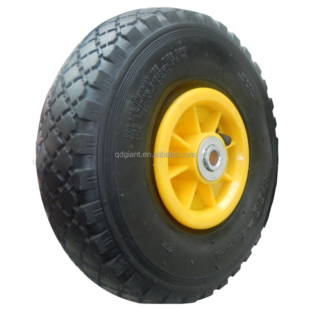 Small plastic wheel pneumatic tyres 3.00-4 for sale
