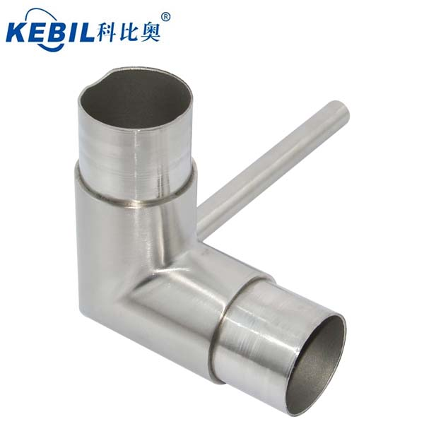KEBIL 3 Way Pipe Connector Stainless Steel Round Tube Connectors 42.4mm