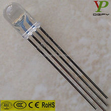 wholesale alibaba 3mm 4-pin rgb led diode
