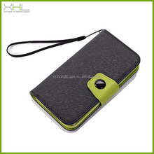wholesale flip leather phone case for samsung s5 cheap mobile phone case