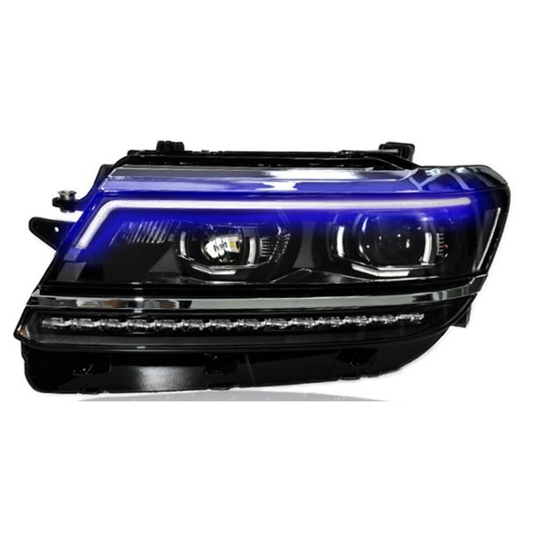 Factory 2017 year LED modified cars headlamp for Volkswagen Tiguan-L