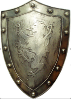 solider with shield and sword,medieval warriors