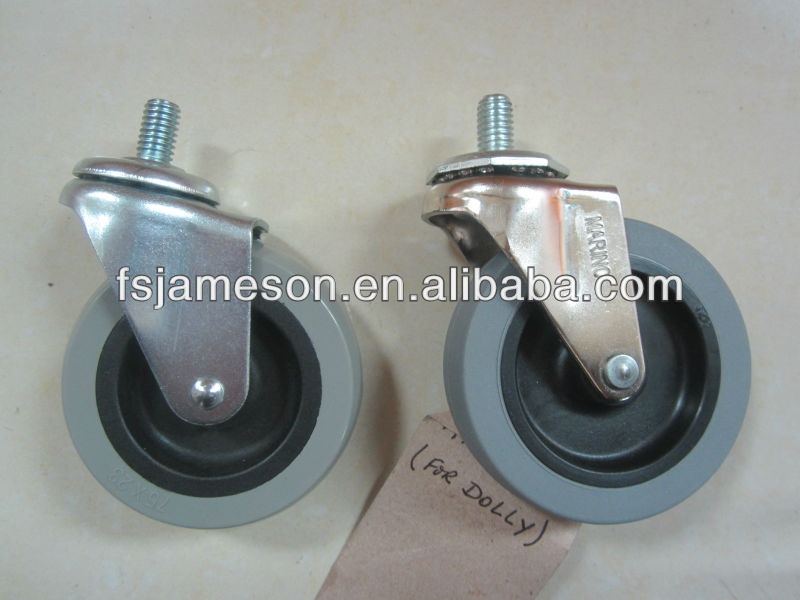 bed caster leg small casters pp caster