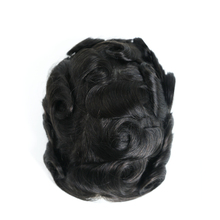 6'' 10'' 12'' 14'' 16'' 18'' 20'' cap size 8x10'' mens human hair toupee with wholesale price