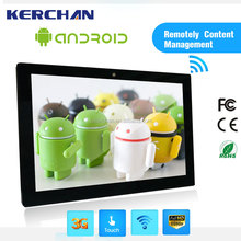 "15"" android touch screen wall mount, tablet wall mount for commercial use"