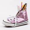 INTERWELL BXN65A Stylish Shoe Shaped Stationery Glitter Pencil Case