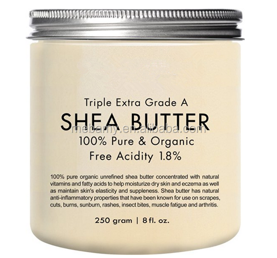 Organic raw unrefined shea butter
