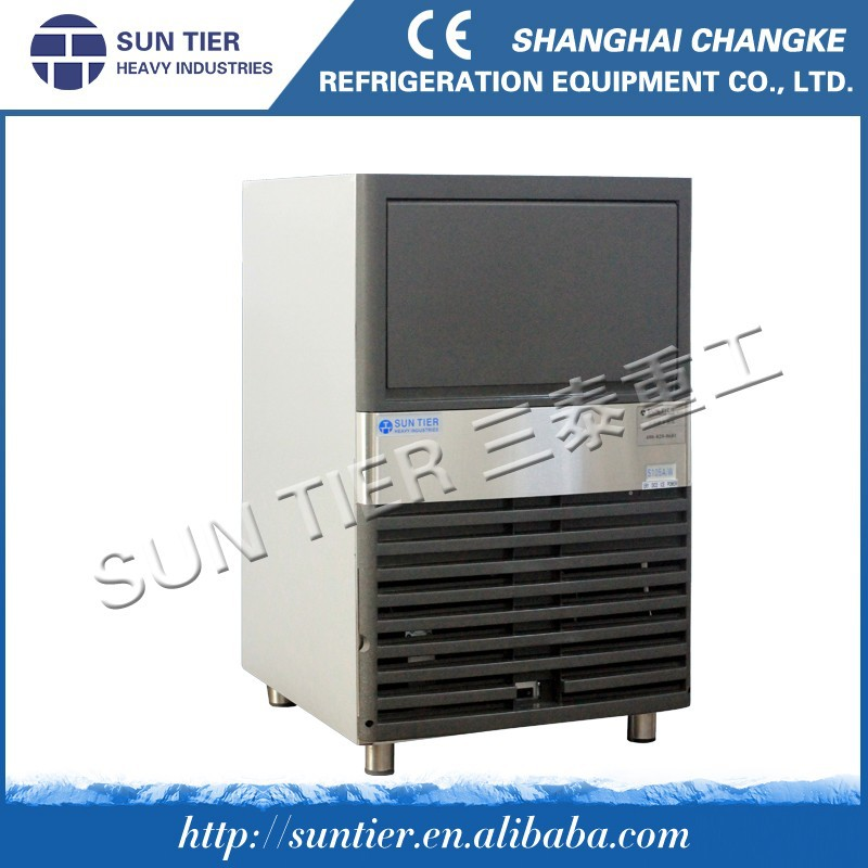Flack Containerized For Docks Snow Flake Ice Maker For The Fish Market New Soft Serve Ice Cream