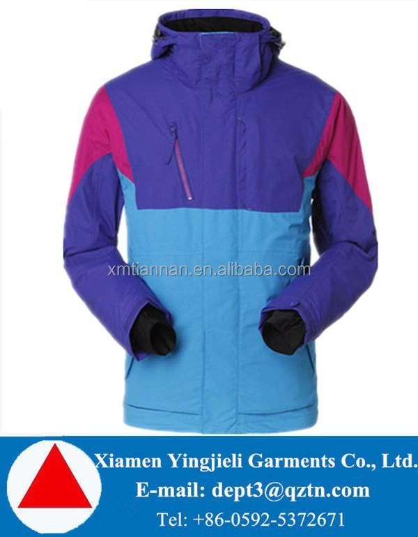 Yingjieli chinese Clothing Manufacturers Breathable Outdoor Men Crane Snow Ski Wear