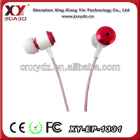 nice design comfortable wearing mobile phone earphone for samsung