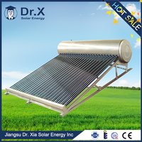 Newest Design High Quality low presure glass tube solar hot water heater