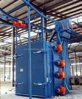 Q37 series Hook Hanger Type Shot Blasting Machine with Automatic Conveying System