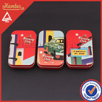 Custom picture small metal tin boxes