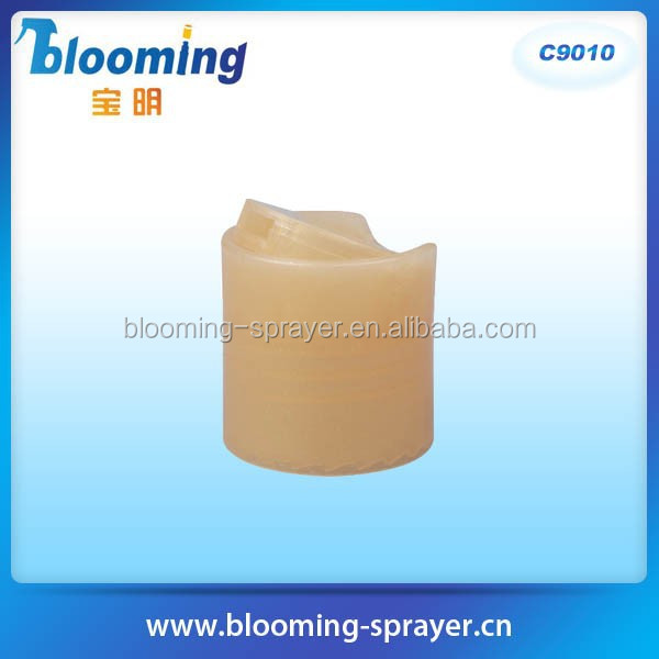 printed mouth cap Sealing Type and Screen Printing plastic jars flip top lids