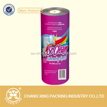 standard pvc plastic roll film packaging