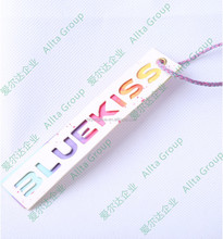 Wholesale low price printed paper/plastic tag product hang tags like wine bottles, crafts, jewelry