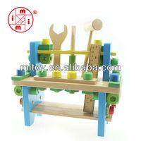 children toys new 2016 style Wooden play house toys Simulation Repair Tool Kit set