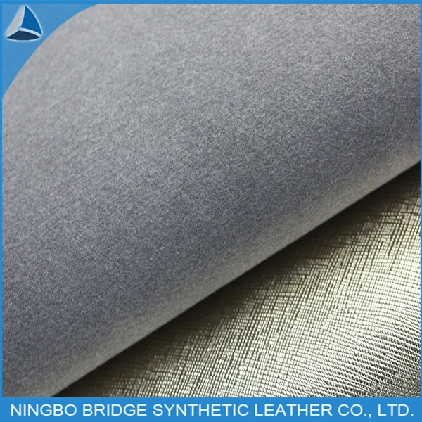 PU Shoe Lining Fabric in Gold