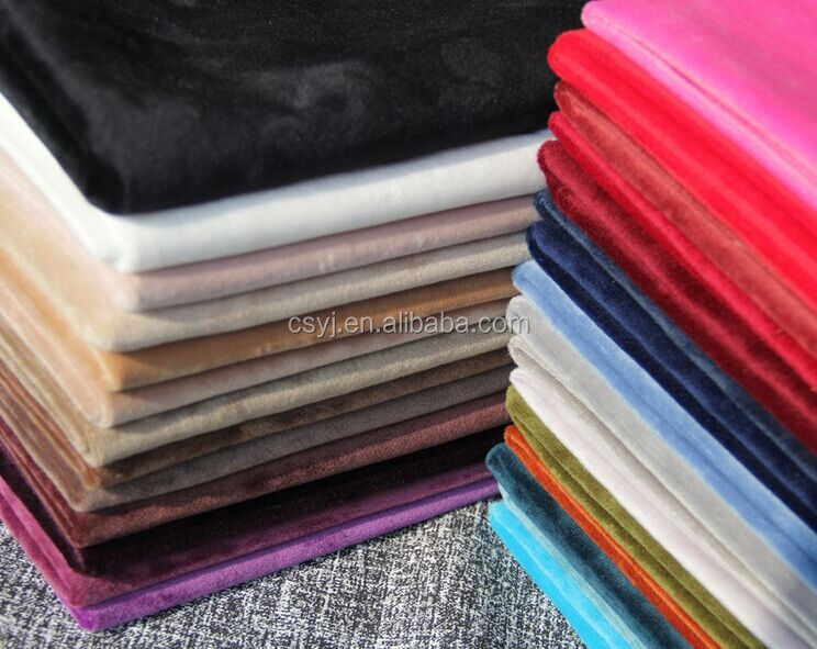Comfortable And Soft FDY/DTY Ef velboa brush fabric