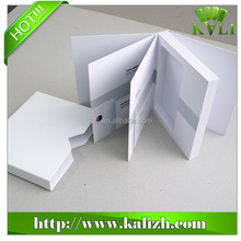 Hot selling environmental protection white cardboard cell phone box