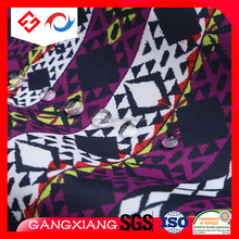 Customize 300D woven fabric oxford printed flag UV fabric wholesale price waterproof 100% polyester coated fabric