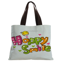 Plain Blank Bulk Wholesale Make Up Cotton Canvas Cosmetic Bag