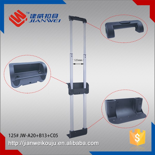 Trolley Luggage Telescopic double pole Internal Handles JW-A20+B13+C05