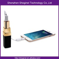 Fast charge patent mobile lipstick power bank