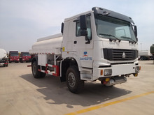 sinotruk HOWO fuel tanker used 6x4 truck for sale in tanker