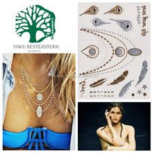 Temporary Tattoo Art, Jewellery Inspired Temporary Tattoos, Waterproof Temporary Tattoos