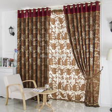 Fashion latest designs blackout curtain