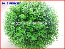 2013 factory Garden Fencing top 1 Garden decoration fence pvc clear rigid collar inlay film fence