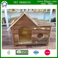 LARGE DOG HOUSE Outdoor Wooden Pet Dog House Animal Home Kennel