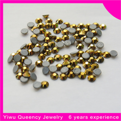 Professional manufacture nail crystal hot fix stones for clothes decoration