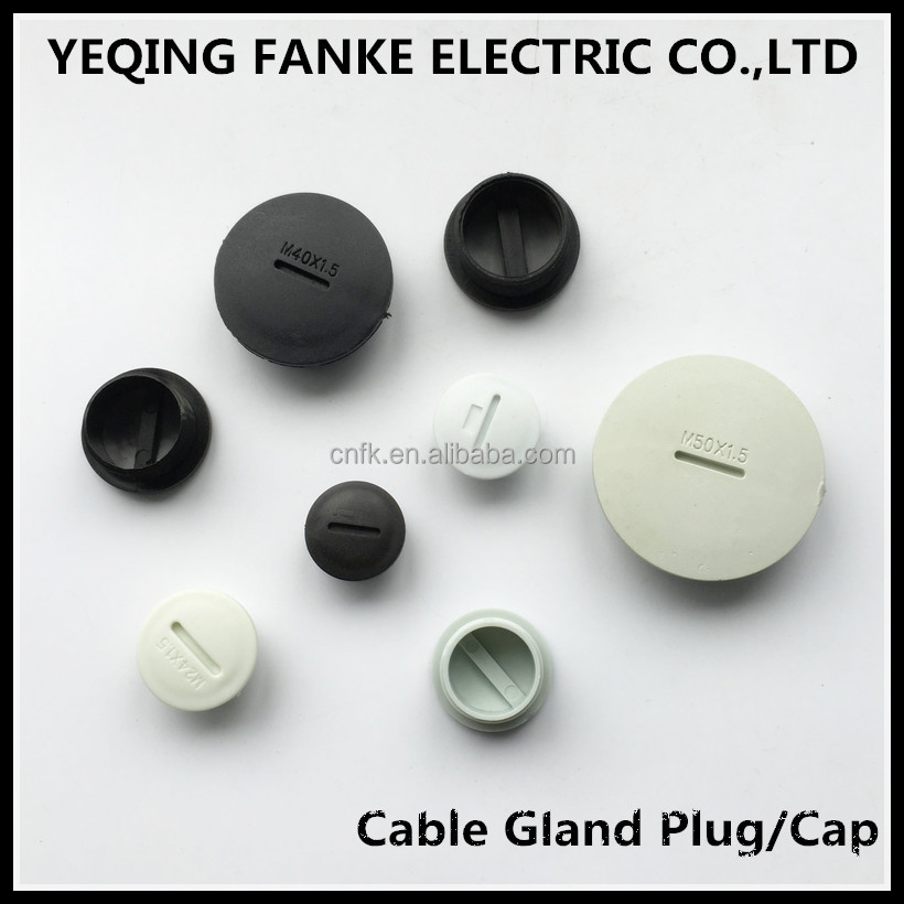 Full size of Plastic cable gland cap nut/ cable gland plug