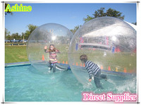 2016 Top Quality wholesale roll inside inflatable ball water ball for kids