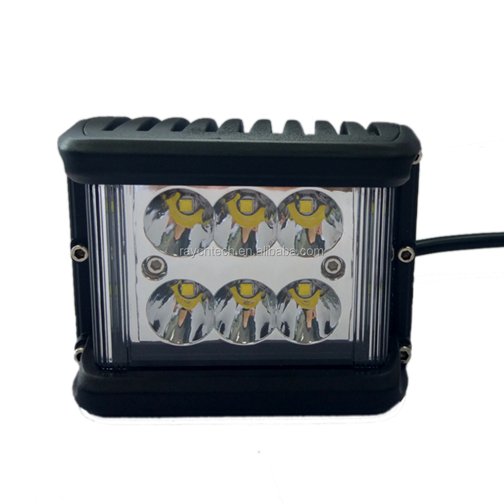 led truck lights Rear Direction stop lamp 27w round square auto lamp12v 27w led work lights for truck atv utv suv