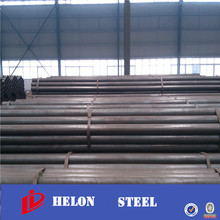 ms carbon black steel pipe / lean pipe manufacture