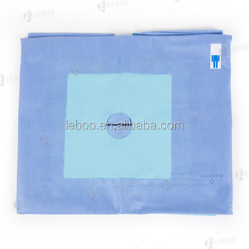 Leboo Sterile Extremity Drape with elasticated fenestration