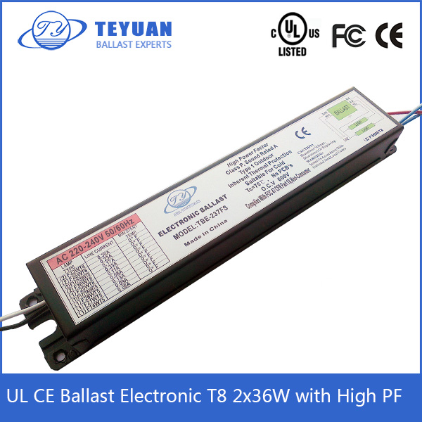 Electronic Ballast T8 2x36 HOT SALE