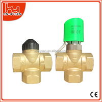 Automatic electric 3-way water diverter valve